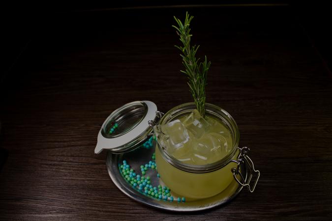 Gin Rosemary Smash